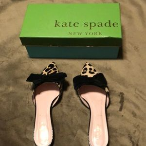 Kate Spade Faris Leopard slide on